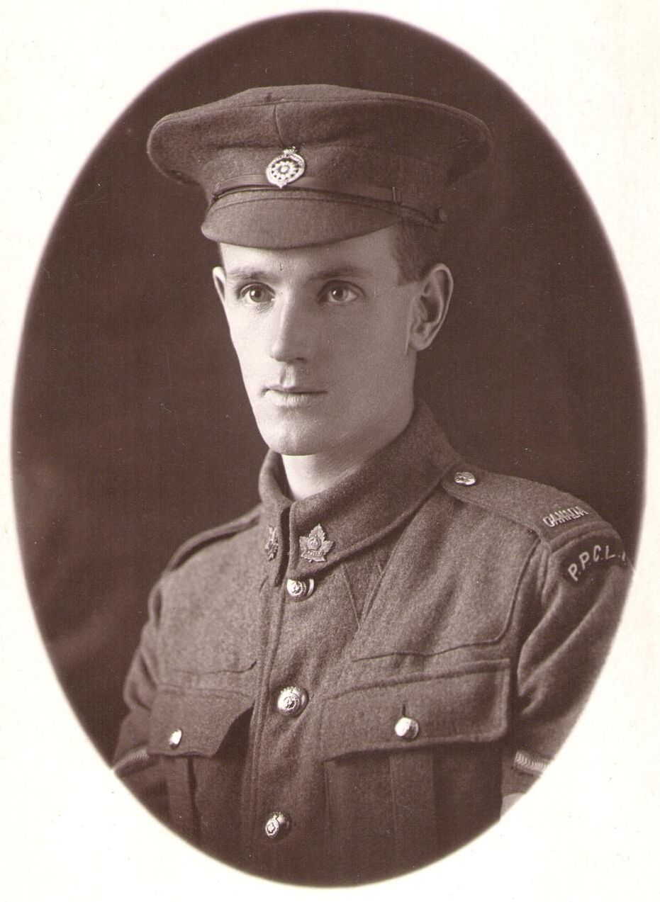 Lance Corporal Walter Mathews Oliver Princess Patricia Canadian Light Infantry