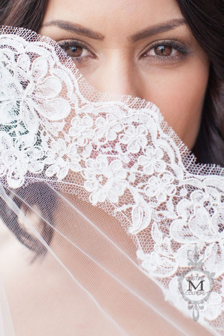 The Amy Veil from the Lace Collection