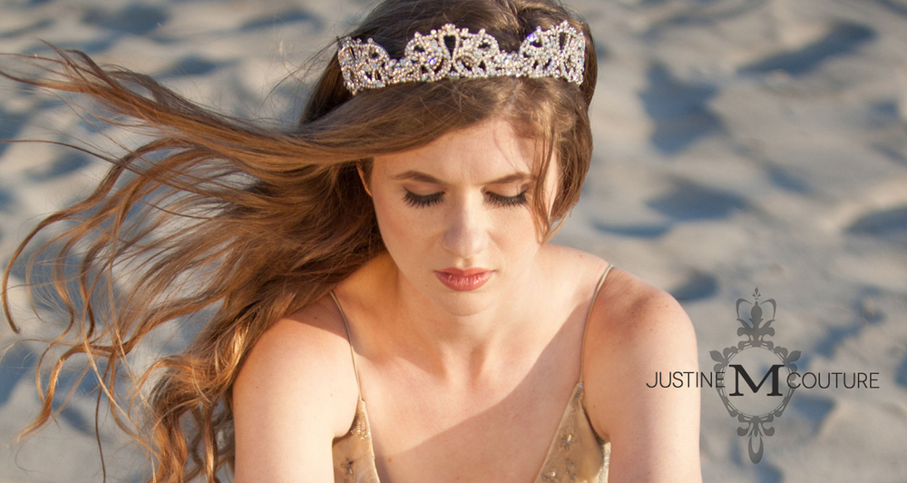 Windsor Crown by Justine M Couture bridal jewelry and accessories
