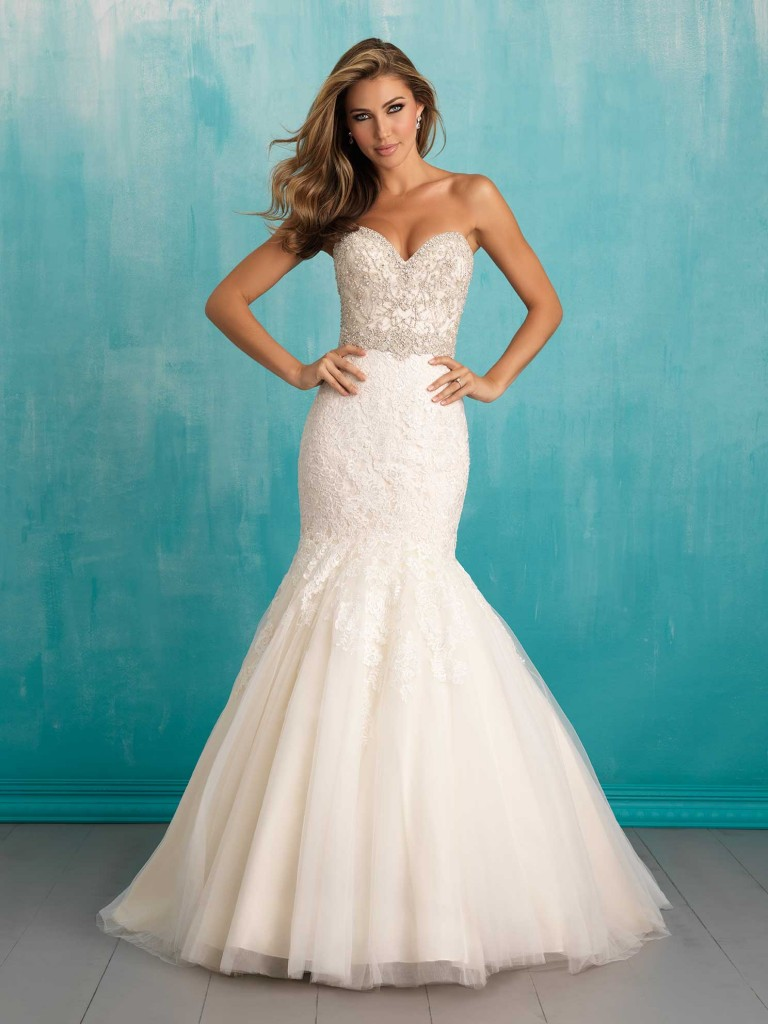 Featured Bridal Gown Designer: Allure Bridals as seen at The Bridal ...