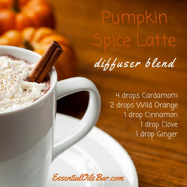 Pumpkin spice latte diffuser blend essential oils bar for How to make pumpkin spice essential oil