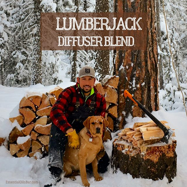 Feeling cozy with the Lumberjack Blend in the diffuser today! What are your favorite woodsy essential oils? @doterrafordudes