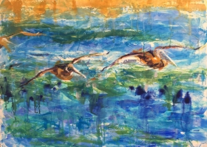 Student Acrylic Painting