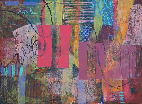 "oil on canvas  40"" x 54""  2018"
