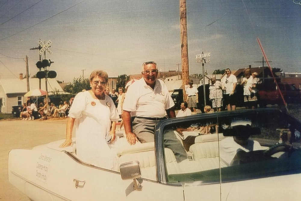 1999 - Clarence & Dorothy Hruby