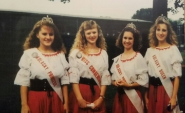 Montgomery's Ambassadors for 1993 include First Princess Dawn Nesmoe, Miss Congeniality Lynn Lingsweiler, Second Princess Jennifer Dvorak and Queen Karina Janovsky