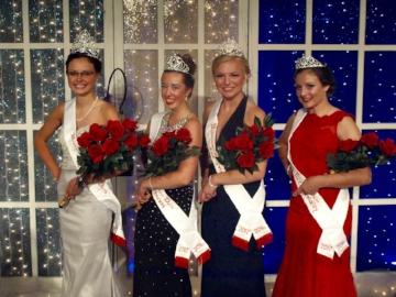 Kolacky Days Royalty 2016 (from left) Queen Lexy Malecha, First Princess Brianna Rutt, Second Princess Grace Krautkremer, and Miss Congeniality Haley Dietz.