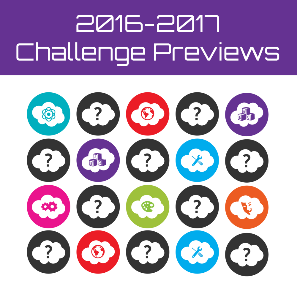 Destination Imagination Challenges are all about fostering creativity, courage and curiosity. Click hereto view summaries of the 2016-2017 Challenges.