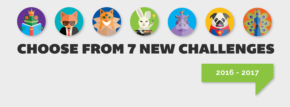 Choose from 7 new challenges.png