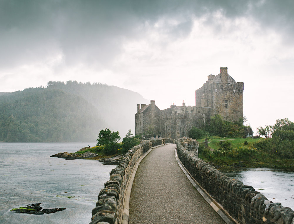 Volvo UK Scotland castle