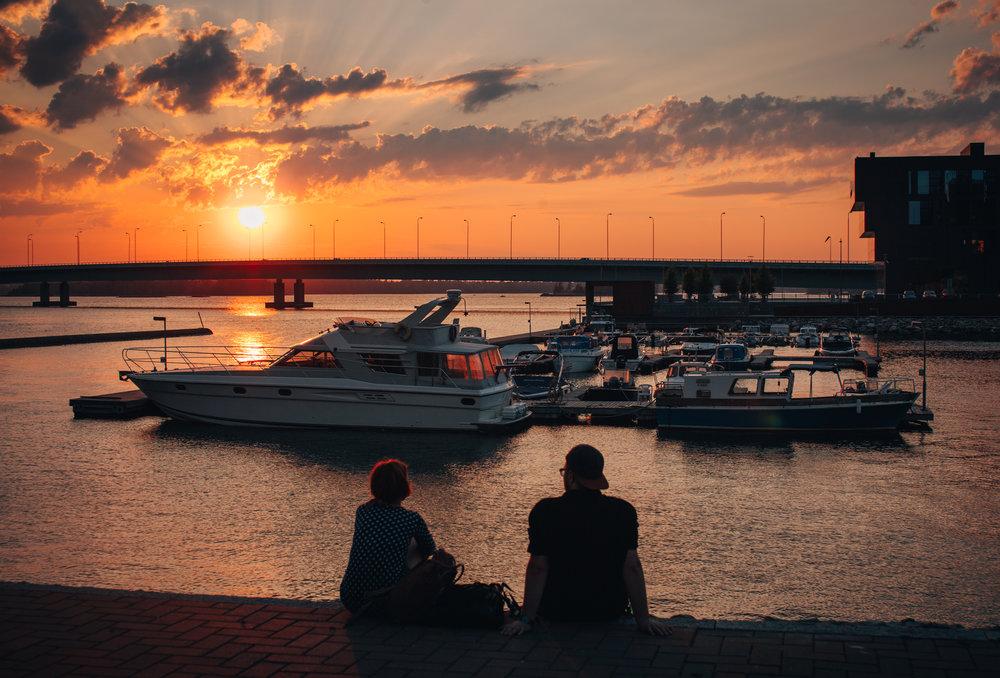 Helsinki ulkoilu satama