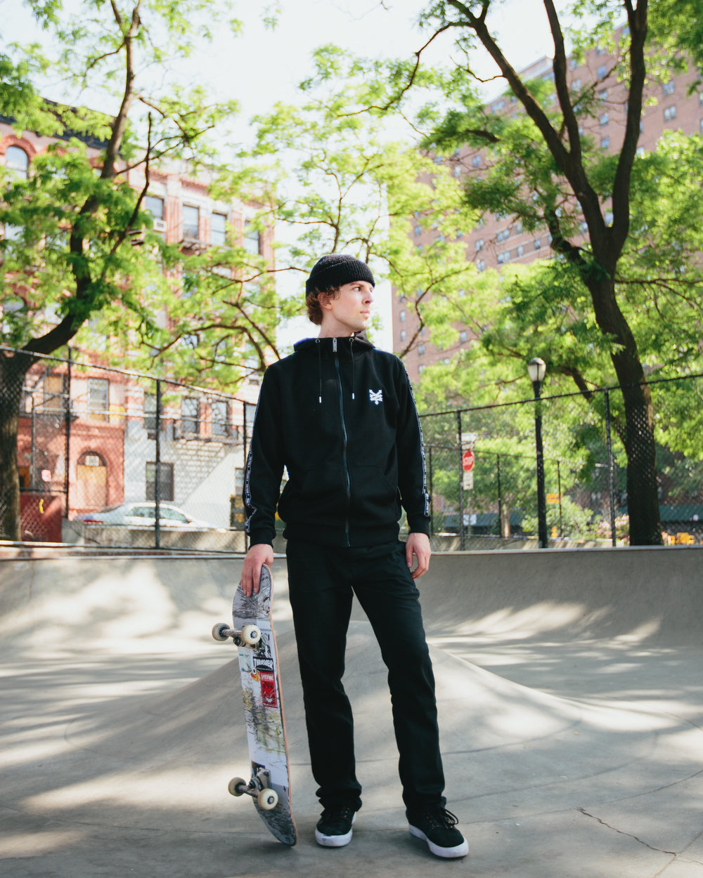 Prisma new york city skateboard