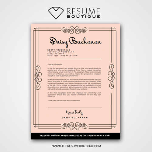 The Great Gatsby — The Resume Boutique
