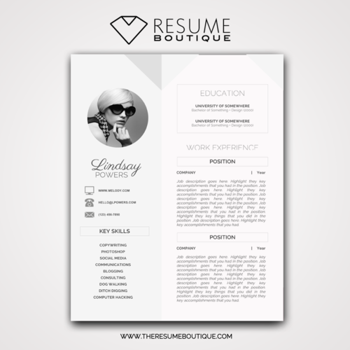Geometric — The Resume Boutique
