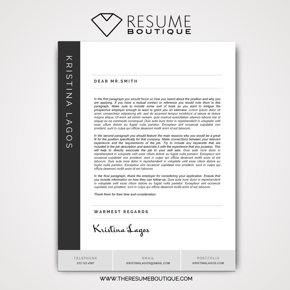 Sideline Space The Resume Boutique