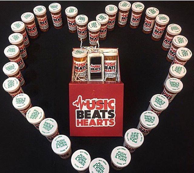 Music is the best medicine! #musicbeatshearts #spreadthebeats