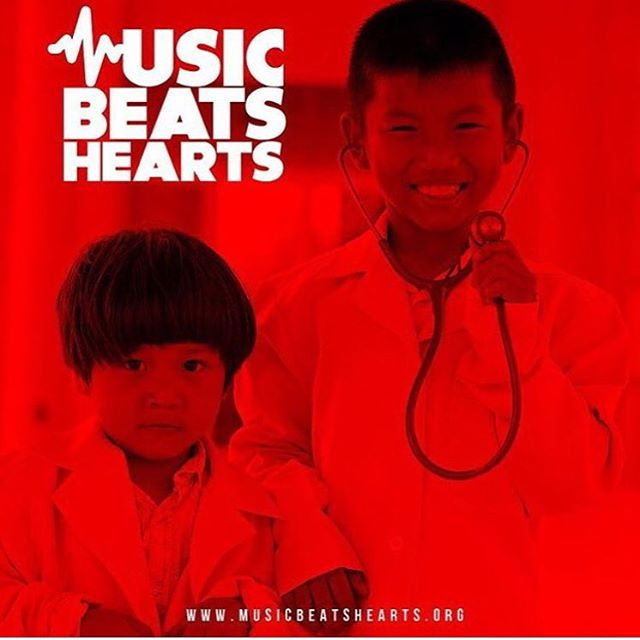 We are #musicbeatshearts! Think of us as your musical doctor! We believe that the power of music can heal the world! Help us #spreadthebeats by visiting musicbeatshearts.org to see how you can get involved!