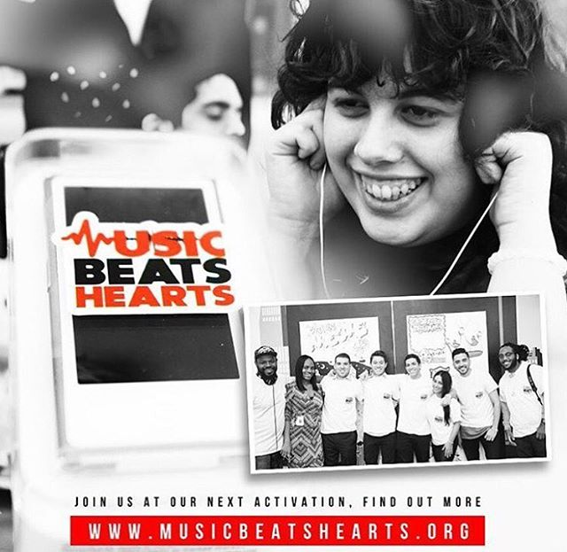 Thank you all for continuing to support #MusicBeatsHearts. Because of you, we are able to go into hospitals across the country and put smiles on the faces of children! Visit musicbeatshearts.org to see how you can get involved and help us with our next activation!