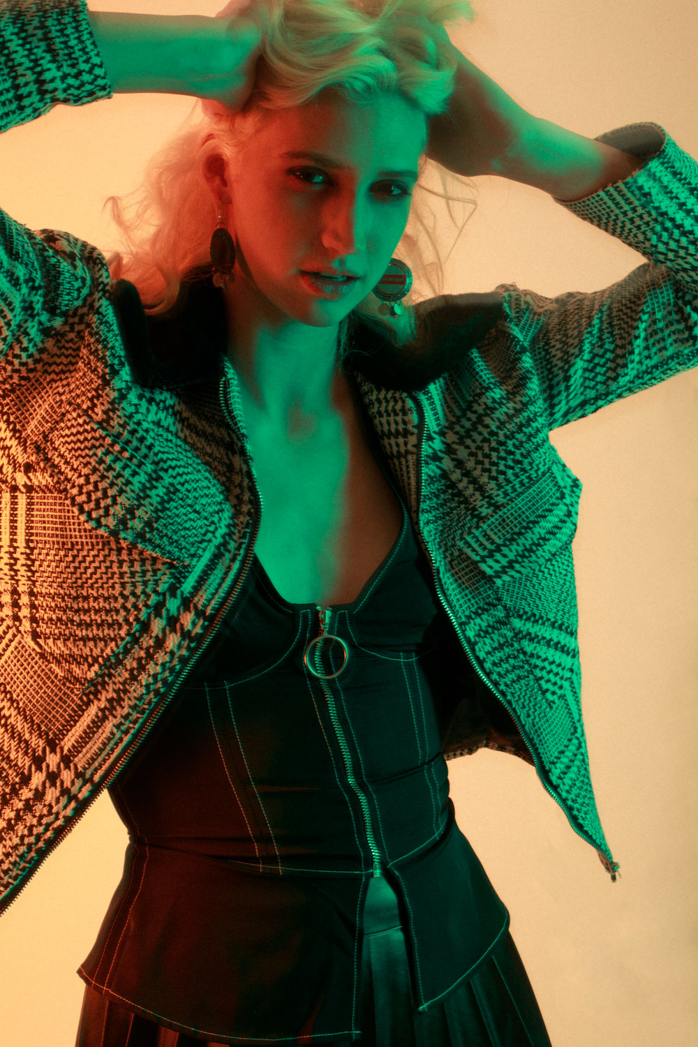 Eva Wagner photographed by  Merimon Hart , styled by Crystelle Colucci,make up by Duran Tsang and hair by Nico Gianfortune