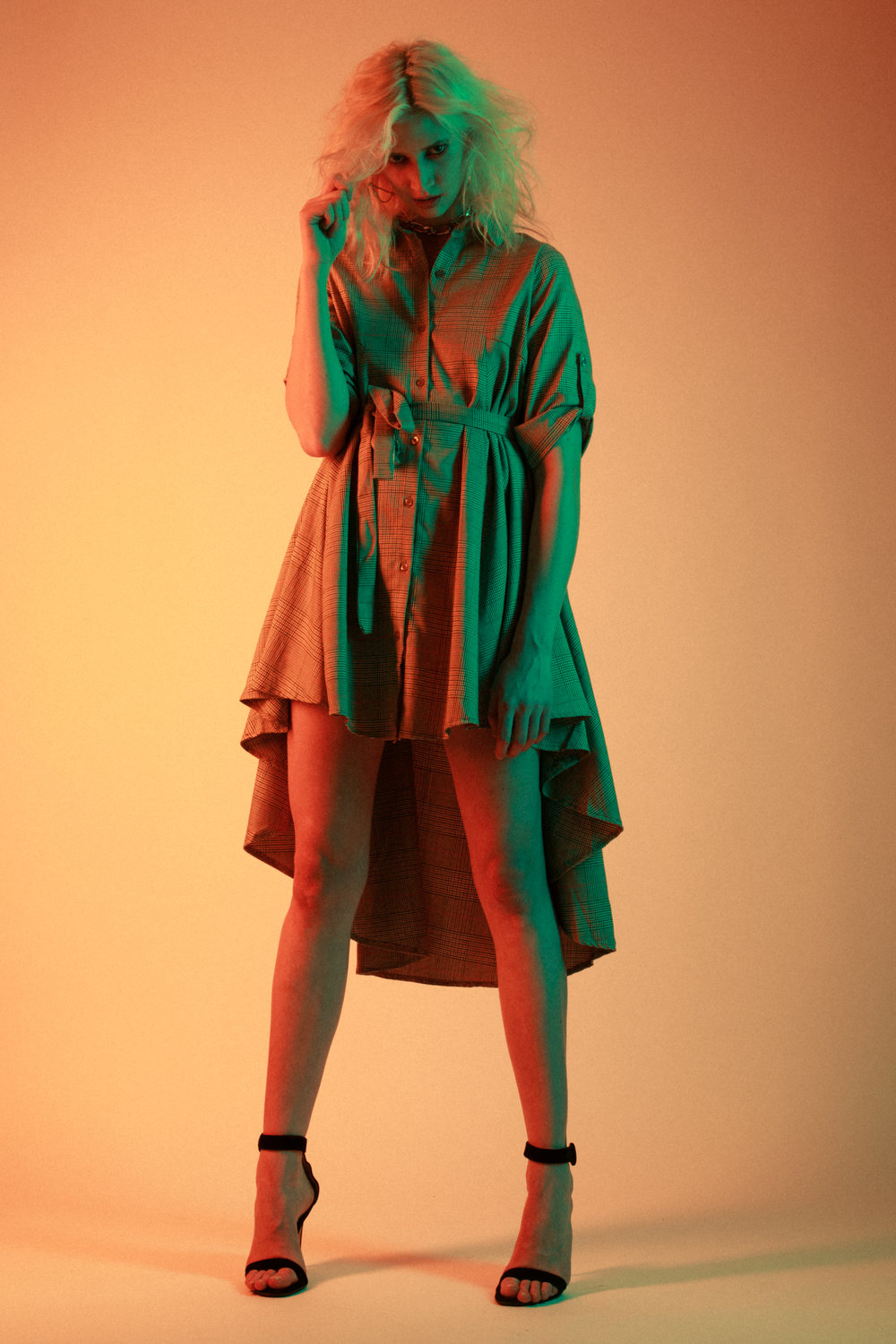 Eva Wagner photographed by  Merimon Hart , styled by Crystelle Colucci, make up by Duran Tsang and hair by Nico Gianfortune