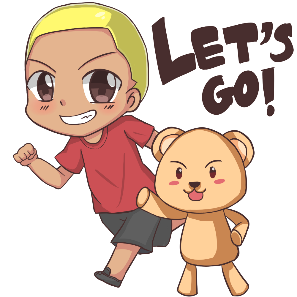 Lets Go (blonde with words).png