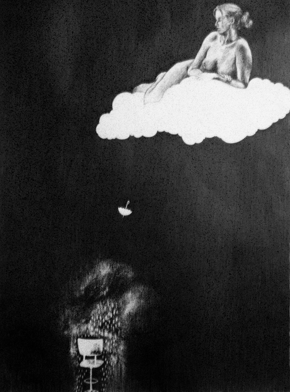 Rain Under Cloud雲下的雨