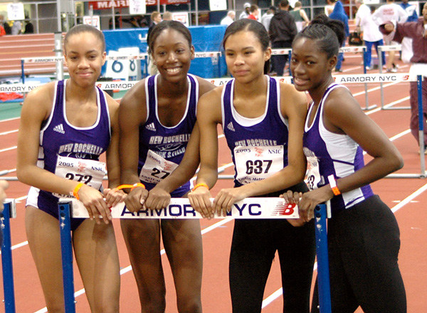 New Rochelle has more girls Section 1 records than any other school