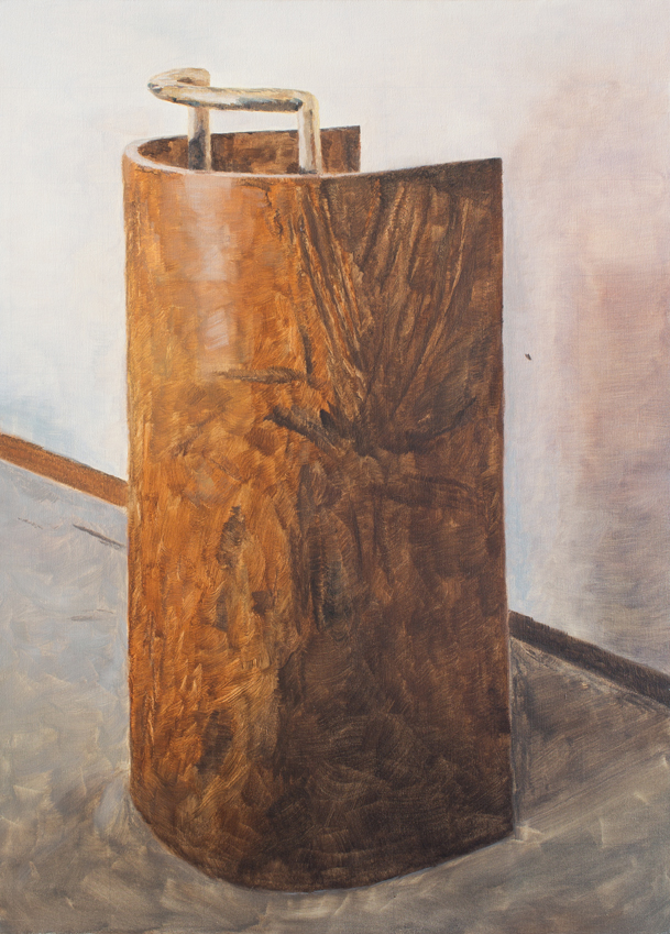 Podium 2013 oil on canvas 36 x 26 in.