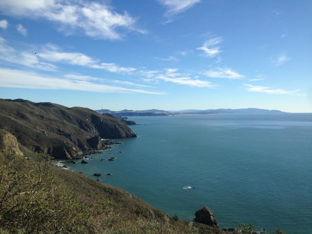 Muir Beach Hike with a view of San Francisco
