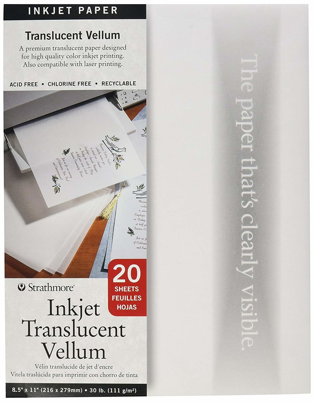Inkjet Translucent Vellum