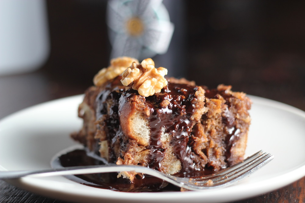 Dark chocolate stout bread pudding probably this this recipe uses some great local products including irish channel stout from nola brewery and baguettes from tartine forumfinder Image collections