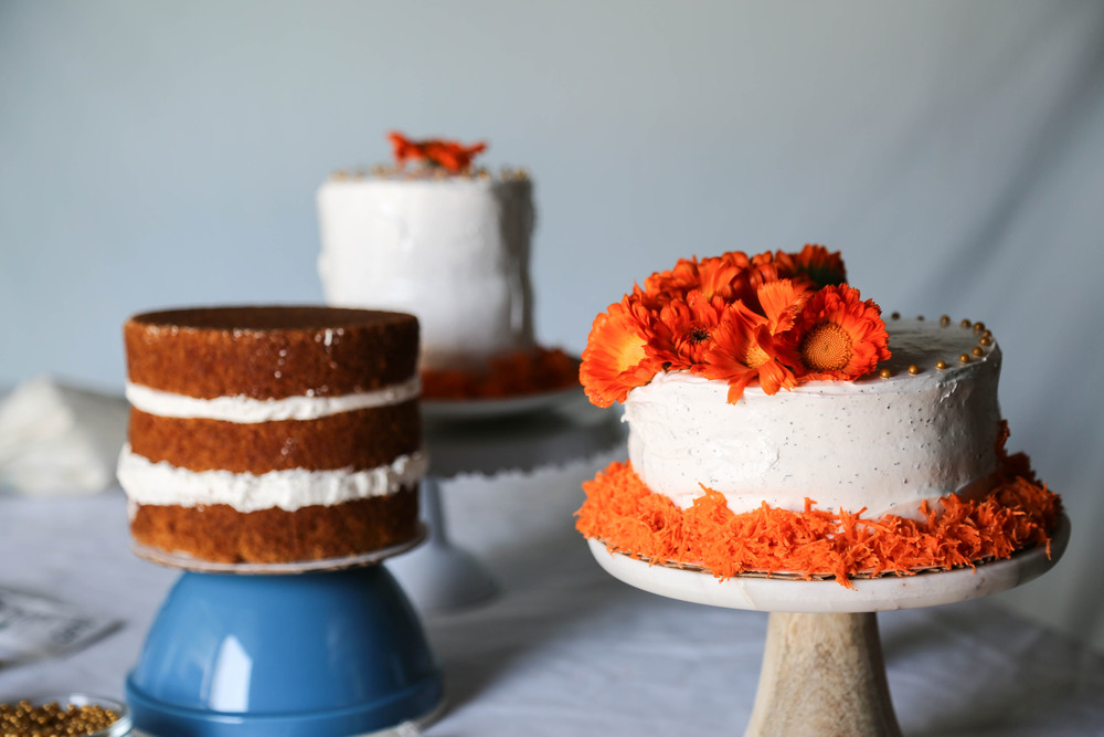 Cardamom Carrot Cake + Earl Grey Frosting (gl | Where Y'at
