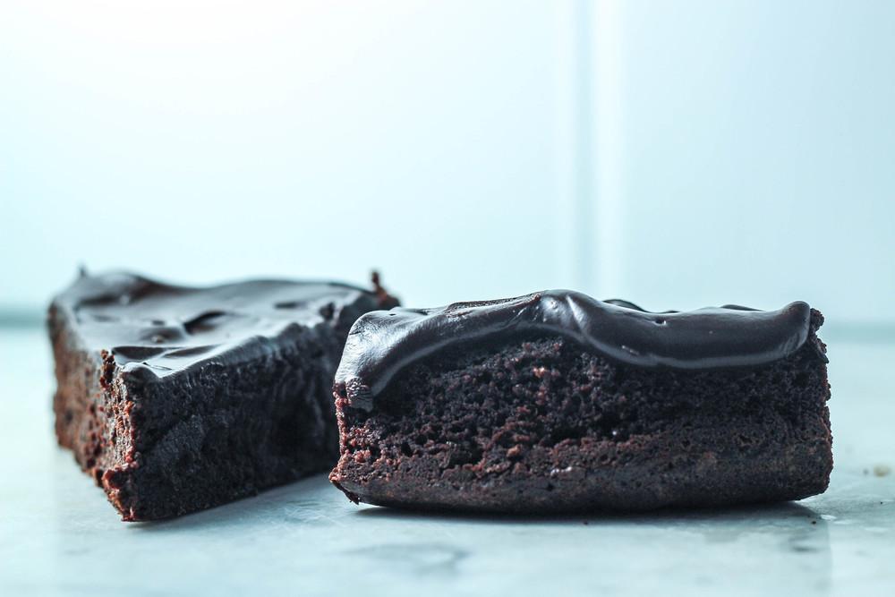 Nearly Flourless Chocolate Cake