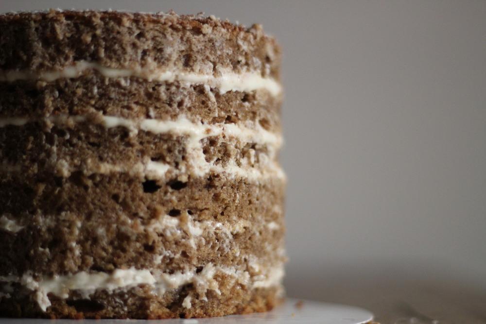 Bourbon Spice Layer Cake (glutenfree)
