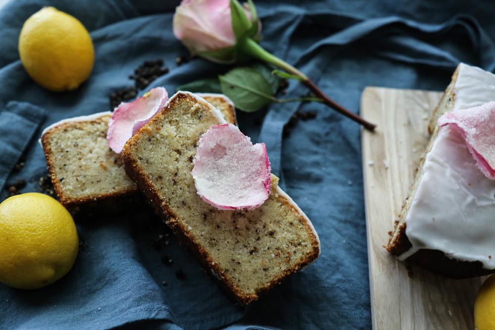 Lemon & Cracked Pepper Pound Cake (gluten free)