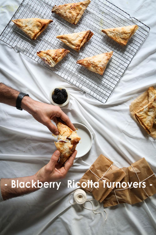 Blackberry Ricotta Turnovers