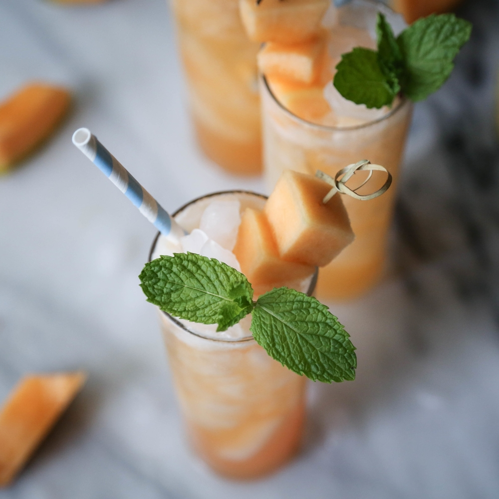 Tequila Cantaloupe Cocktails