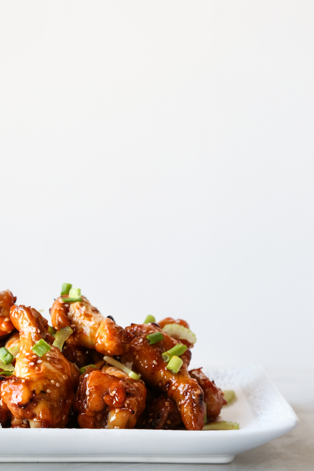 Maple + Crystal Hot Sauce Baked Chicken Wings — Probably This