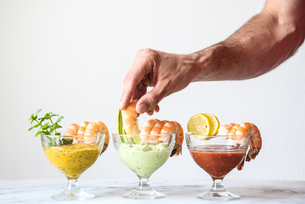 Shrimp Cocktail   Ménage à Trois   Dip it!