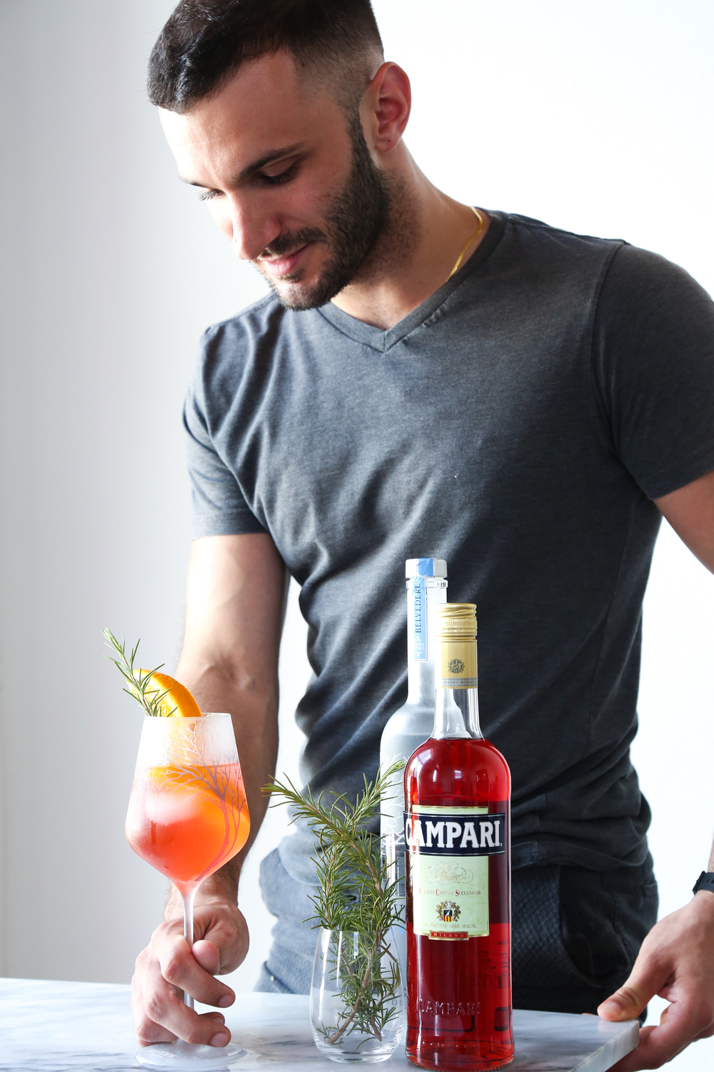Belvedere Herbal Spritz