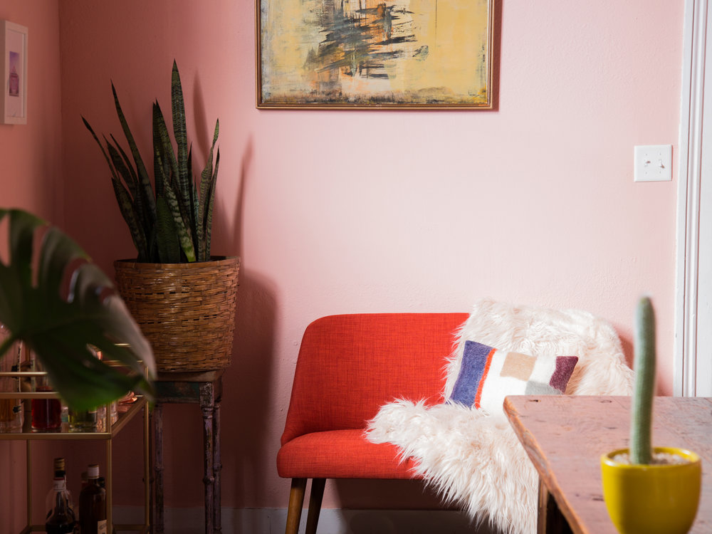 Pretty in Pink: Makeover