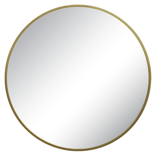 Round Threshold Mirror $50