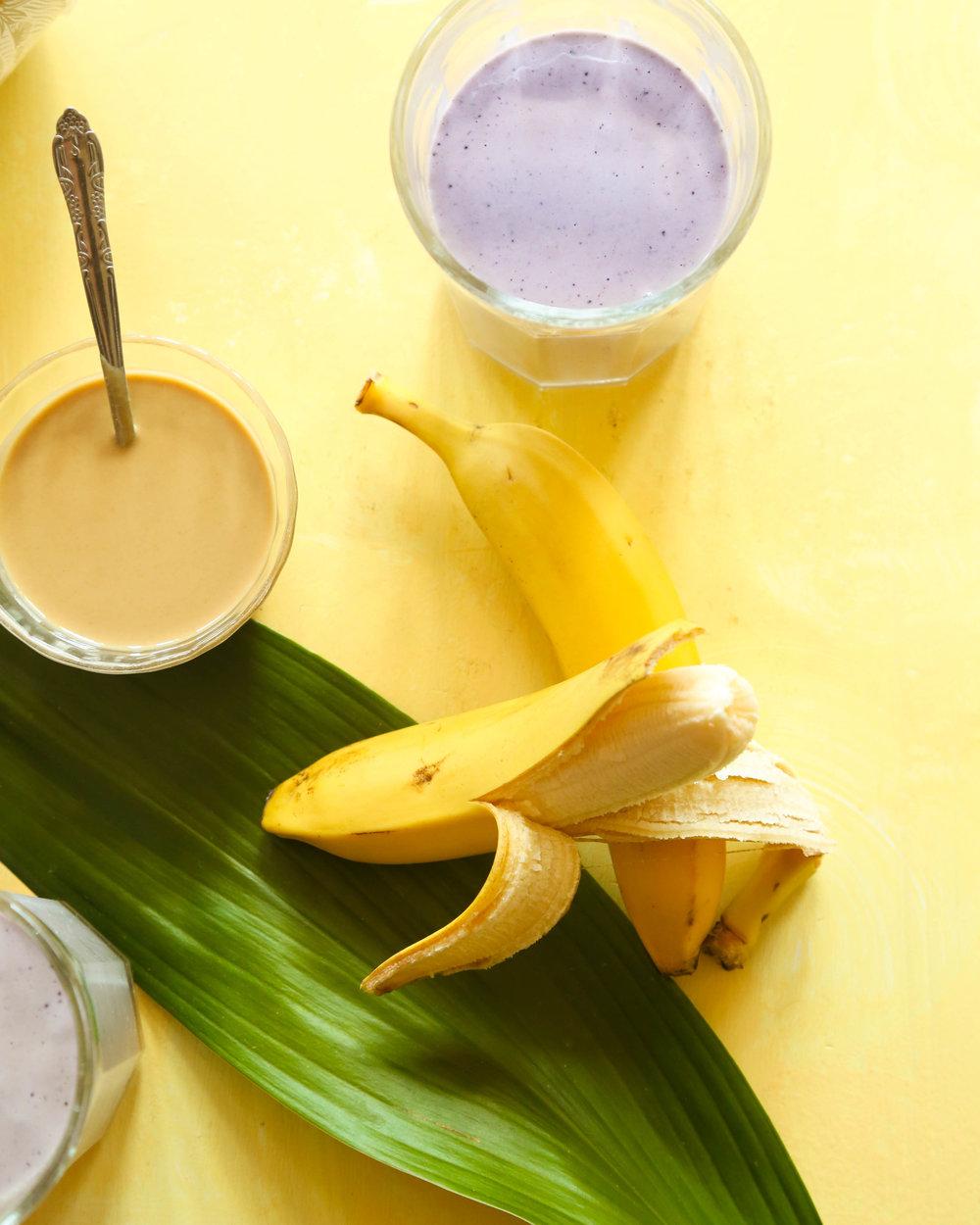tahini protein smoothie