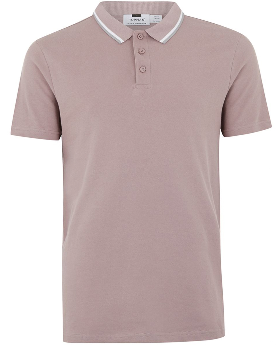 Pink Muscle Polo - ($20)
