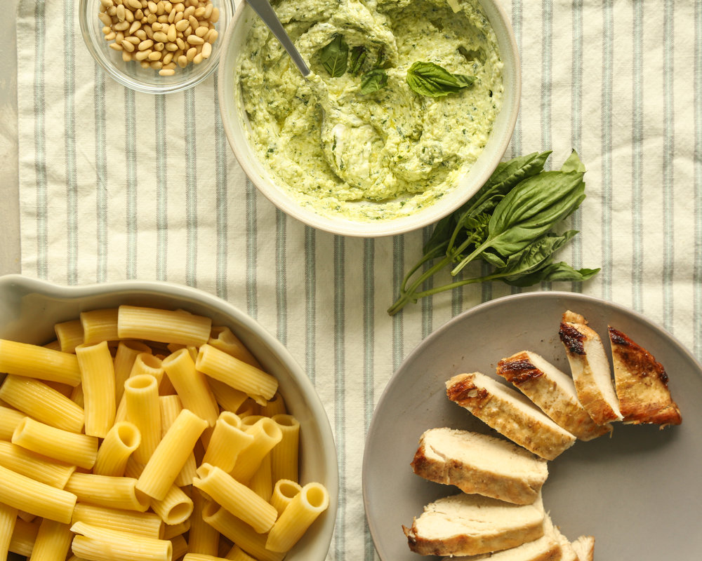 basil pesto chicken
