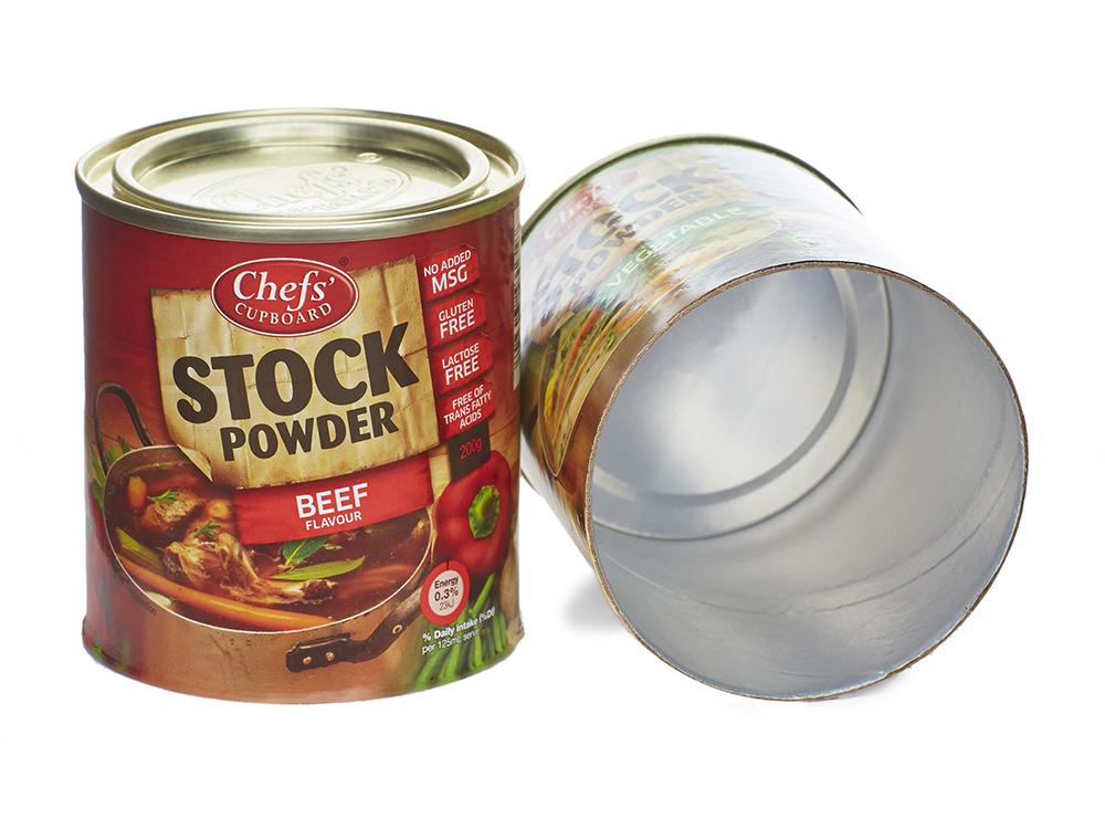 Shelf Ready Composite Cans