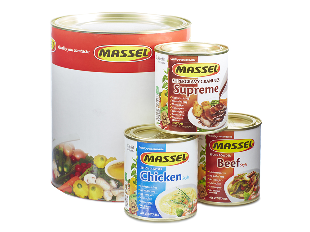 Large Composite Can Packaging