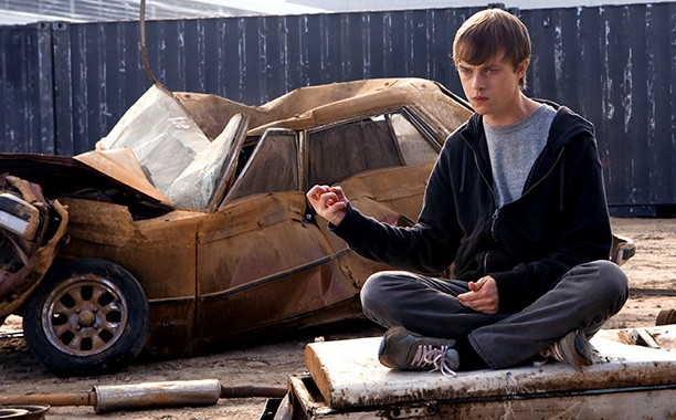 Dane DeHaan plays troubled teenager with newfound superpowers in Chronicle.
