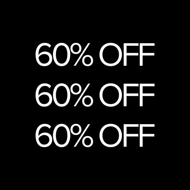 Black Friday deals start tonight! All pieces up to 60% off at corue.ca