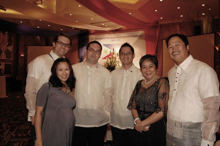 Philippine Independence Day Diplomatic Reception in Hanoi 2012